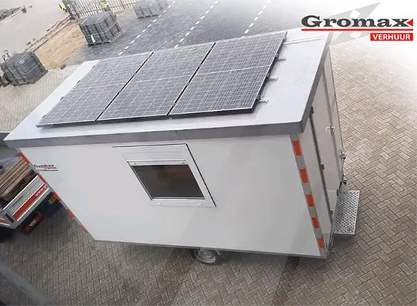 project duurzame keet MB Zonnepanelen Gromax