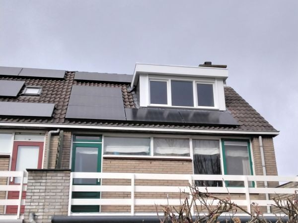 MB Zonnepanelen Bodegraven Woning Reeuwijk Pannendak