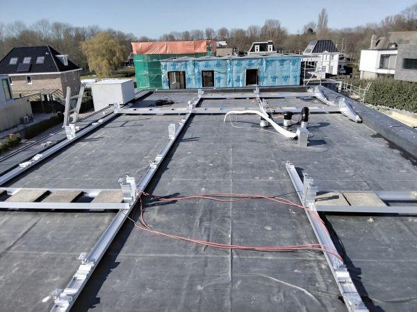 MB Zonnepanelen Bodegraven Woning Den Haag Onderconstructie