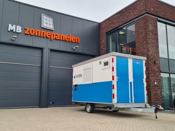MB Zonnepanelen Bodegraven Reeuwijk Schaftwagen Duurzaamheid Keet