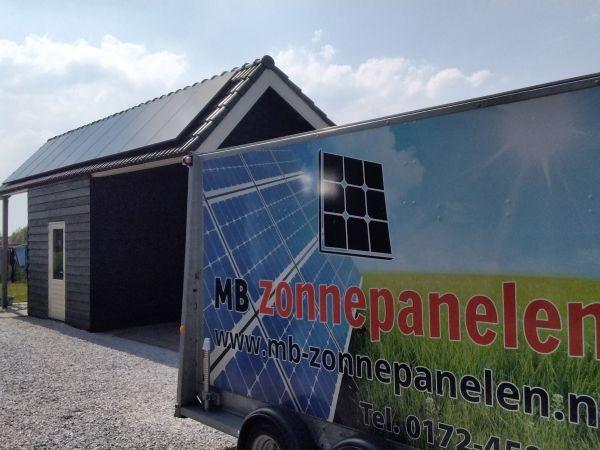 MB Zonnepanelen Bodegraven Reeuwijk schuur Woning Duurzaam