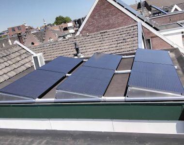 MB Zonnepanelen Bodegraven Zuid-Holland Particulier Plat dak