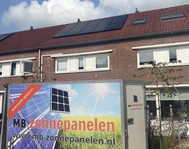 MB Zonnepanelen Bodegraven woning zonnepanelen